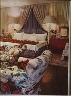 The Peak Of Chic Nan Kempner American Bedroom Night Decor