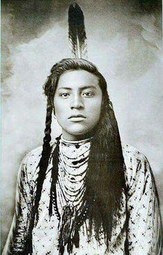 Native American Crow man, 1883