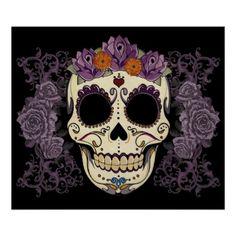 Dia de los muertos. Love it!