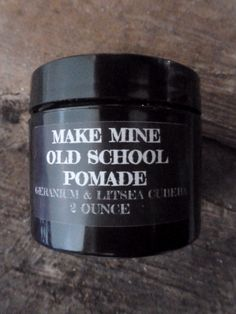 Make Mine Old School Pomade Fuller's Earth Clay and Beeswax let you sculpt your individual style, or add lift to longer hair. Alcohol and chemical free. Fullers Earth, Natural Hair Styles, Long Hair Styles, Beard Balm, Alcohol Free, Body Care, Old School, Sculpting, The Balm