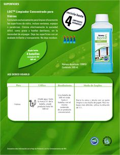 Limpiador Concentrado para Vidrios Nutrilite, Amway Products, Amway Home, Amway Business, Business Infographics, Ads, Cleaning, How To Plan, Health
