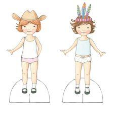 Paper Dolls - Tamsin Ainslie Illustration