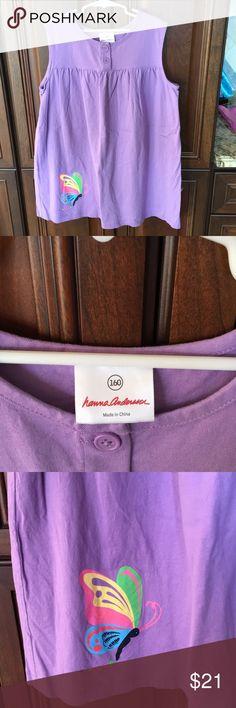 Hanna Andersson Dress Tunic Purple. EUC.  Sz. 160= 14/16 Hanna Andersson Dresses Casual