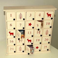 Wooden Nordic Advent Calendar