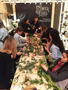 Flower Crown Workshop with Flower Girl NYC