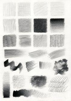 28 Line Pattern Pencil Drawing Ideas - Art Pencil Texture, Texture Drawing, Basic Drawing, Drawing Lessons, Drawing Ideas, Drawing Tips, Pencil Shading Techniques, Drawing Techniques, Pencil Art Drawings