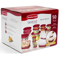 Rubbermaid Easy Find Lids Food Storage Set  50piece * AMAZON Great Sale