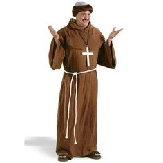 Medieval Monk  Adult Costume Get up to 15% When you spend $50 at Buy Costume using Coupons and Promo Codes.