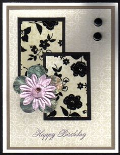 LaCreme Birthday for a friend... Stamps: Birthday Basics (Clear and Simple stamps)
