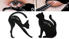 Buy 2-Piece Cat Eyeliner Stencil Set for just £3.99 Say miaow to the2-Piece Cat Eyeliner Stencil Set      Includes 2 x cat stencils      Perfect for using in eyebrow and eyeliner shaping      Use the cat bodies as stencils      Cat dimensions: 70mm x 87mm  and  76mm x 87mm      A unique and quirky addition to your make-up bag      Perfect for any cat-lovers in your life      Save 60% on the 2-Piece Cat Eyeliner Stencil Set for 3.99 pounds BUY NOW for just GBP3.99
