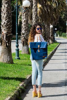 Boyfriend & Chunky Heels #boyfriendjeans #boyfriend #N9VE #nikikartsona #wearfloggs #bonendis #lovefashiongr #fashionblogger #greekblogger #streetstyle #ss2016