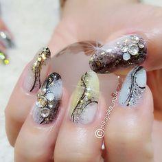 ink brushing  #cute #셀프네일 #watercolor #nailartjunkie #fashion #art #beauty #nail #ネイルサロン #naildesign #watercolornails #nailsalon #selfnail #nailart #design #네일 #watercolornail #polish #ネイル #nailswag #ネイルアート #wedding #pikapika_nails #수채화네일 #nailpolish #gelnail #nails #네일아트 #젤네일 #watercolornailart