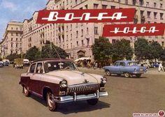 Volga Russian Car!