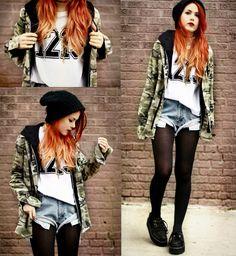 Girls Rock Style: Estilo Rock Feminino Tumblr