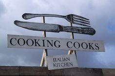 The Cooking Cooks Italian Kitchen, Netil Market, Off Broadway on Westgate Street. Photo by Fiona M Symington 2013.