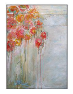 Original Abstract Mixed Media Acrylic Modern Painting by GPerillo, $245.00