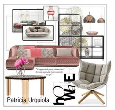 Design. Patricia Urquiola by frenchfriesblackmg on Polyvore featuring polyvore interior interiors interior design home home decor interior decorating MOROSO Kartell Gandà a Blasco Sia LSA International