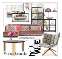 Design. Patricia Urquiola by frenchfriesblackmg on Polyvore featuring polyvore interior interiors interior design home home decor interior decorating MOROSO Kartell Gandà a Blasco Sia LSA International