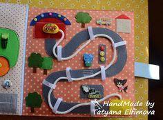Hand-Made РАЗВИВАШКИ от Татьяны Елфимовой: Развивающая книжка для Савушки