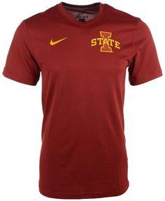 Nike Men's Iowa State Cyclones Stadium Dri-fit Touch T-Shirt
