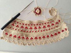 Candy Jewelry, Diy Jewelry, Beaded Jewelry, Bracelet Crafts, Crochet Bracelet, Crochet Shoes, Crochet Yarn, Crochet Designs, Crochet Scarfs