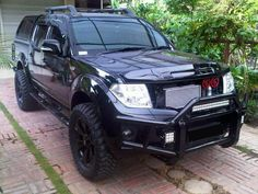 Custom front Bullbar www.rvinyl.com/Dash-Kits-Nissan-Frontier.html Upgrade the interior of your #Frontier with a #CustomDashKit