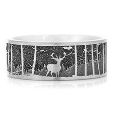 Deer Wedding Ring