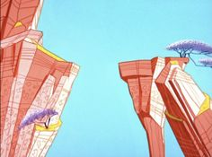 NEW FAVORITE BLOG?? Animation Backgrounds.  These are from Road Runner, and they are exquisite.  #animation