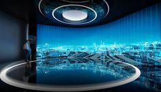 Interactive Exhibition, Exhibition Display, Exhibition Space, Tv Set Design, Stage Design, Media Design, Showroom Design, Office Interior Design, Exhibit Design