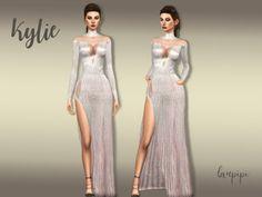 Laupipi: Kylie dress • Sims 4 Downloads