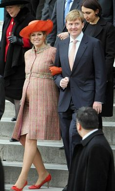 Royal pregnancy style file: How Mary, Maxima and co showed Kate the way in looking princess-perfect - Royal pregnancy style: The princesses who understand Kate Middleton's maternity fashion challenge - Princess Style, Princess Mary, Prince And Princess, Uk Prince, Pregnancy Outfits, Pregnancy Style, Pregnant Princess, Royal Clothing, Style Challenge
