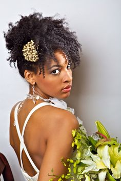 Beautiful curly updo! #ExclusiveExperiences #UnforgetableEvents #EventPlanners #LifestyleManagers #TheEnVISIONFirm Contact us today to plan your special day! 703.957.8848 or info@envisionfirm.com