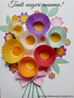 Fantastic 60 Simple, Inexpensive, Yet Funny DIY Cupcake Liner Crafts - Spring Crafts For Kids Kids Crafts, Summer Crafts, Toddler Crafts, Preschool Crafts, Easter Crafts, Projects For Kids, Diy For Kids, Craft Projects, Arts And Crafts