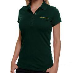 Antigua Oregon Ducks Women's Spark Polo - Green - $26.99