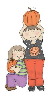 Free Dearie Dolls Digi Stamps Pumpkin Time