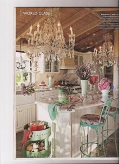 Vintage Dining Room Decor Flea Markets