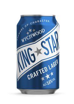 King Star Lager 330ml | C4D, CGI, 3D