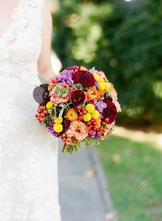 Fall Wedding by Kate Headley and Atrendy Wedding - Southern Weddings Magazine