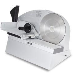 Della Premium Electric Meat Slicer 10' Stainless Steel Blade Food Slice, Silver *** Find out more about the great product at the image link.
