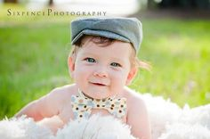 Newborn Newsboy Hat BLACK and KHAKI Houndstooth by CoutureParfait, $24.99