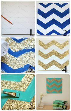 Home Decored Ideas For Cheap Diy Simple Wall Art Ideas Simple Wall Art, Diy Wall Art, Crafts For Teens, Diy Crafts To Sell, Home Design Diy, Ideas Hogar, Diy Canvas Art, Craft Videos, Diy Projects
