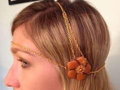 Flapper Head Jewelry  $25  https://www.etsy.com/listing/103945996/1920-flapper-head-jewelry
