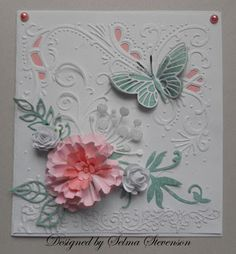 Selma's Stamping Corner and Floral Designs: Pink and Aqua