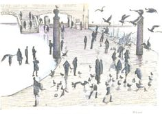 People and birds, 19 December 2015