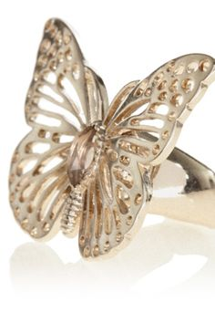 gold butterfly.. yes please
