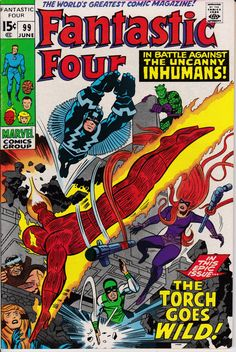 Fantastic Four 99  June 1970 Issue  Marvel Comics  by ViewObscura