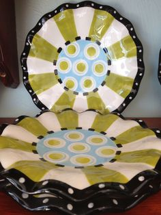 Cute selection of Mud Pies Spring dishware at I'm Just Sayin Gifts at Waterloo & Broadway or www.IJSGifts.com