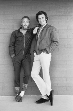 Paul Newman, Clint Eastwood, 1972 - Terry O'Neill/© Iconic Images Limited