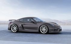 Porsche Cayman GT4 with HRE P101 in Brushed Clear | by HRE Wheels