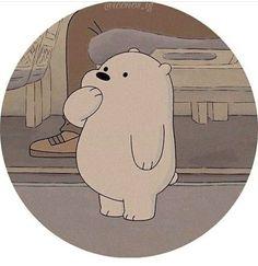 Cute Panda Wallpaper, Cartoon Wallpaper Iphone, Bear Wallpaper, Cute Disney Wallpaper, We Bare Bears Wallpapers, Panda Wallpapers, Cute Cartoon Wallpapers, Ice Bear We Bare Bears, We Bear